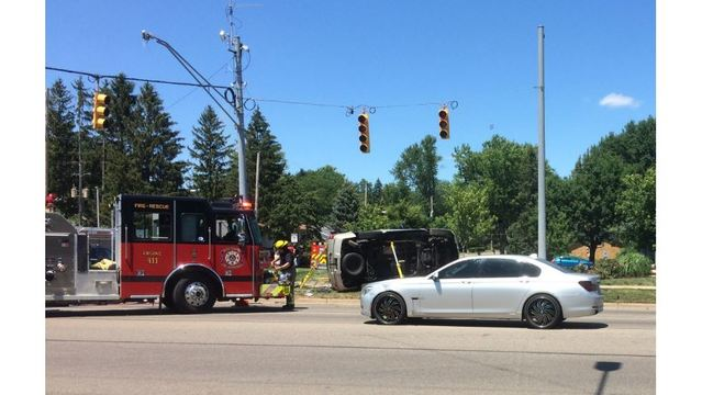Road Rage? Woman recovering after rollover crash