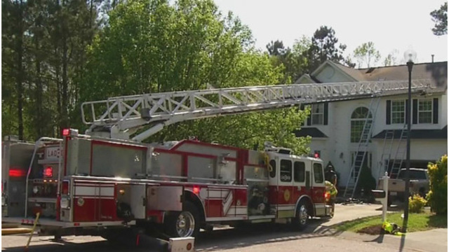 Officials: Wake Forest house fire that injured 1 caused by 'smoking materials'
