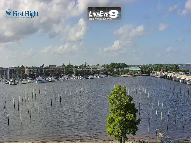 Live Eye 9 From The Bridgepointe Hotel & Marina New Bern