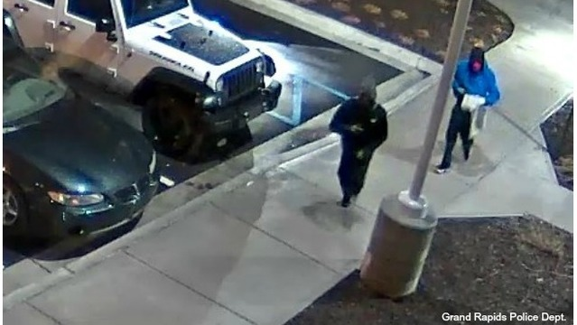 GRPD releases suspect photos in attack of man with machete
