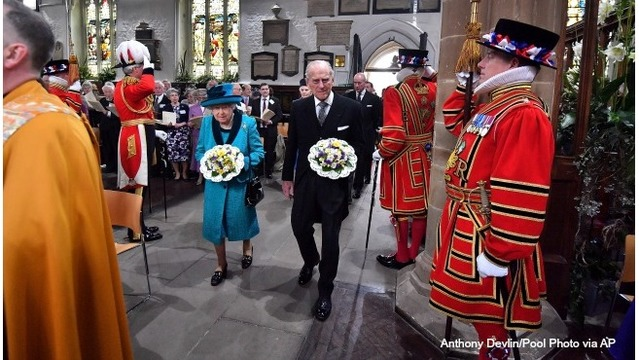 Britain's Prince Philip, 95, to retire from royal duties