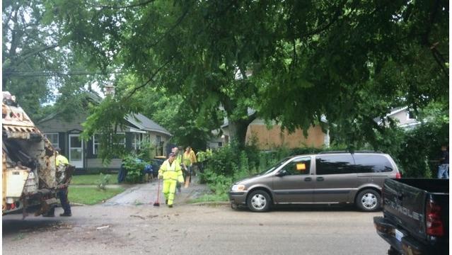 Grand Rapids Boston Street SE hoarding cleanup 071217_368665