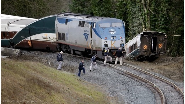 Amtrak train derailed on new, faster route that drew concern