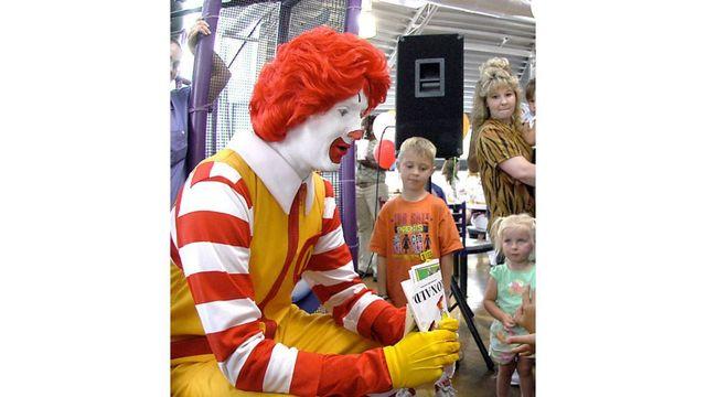 McDonald's: Ronald McDonald keeping a lower profile