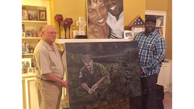 Columbus Veterans use art to honor Vietnam Navy Pilots