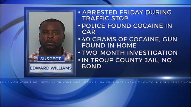 Police arrest LaGrange man in drug bust