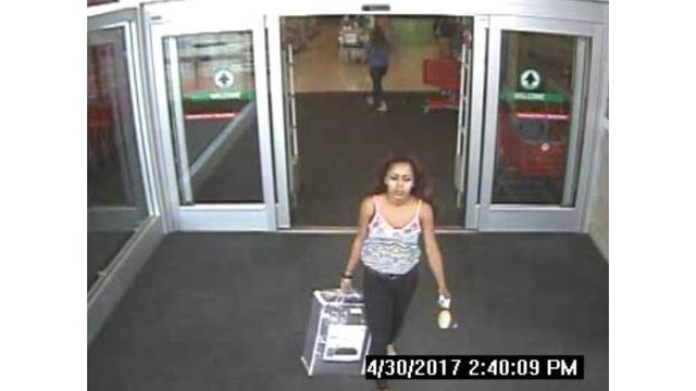 OPD searching for woman accused of making a fraudulent purchase at Target