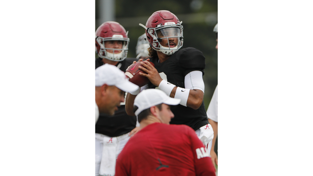 Alabama Football Continues Preparations for Saturday's Scrimmage