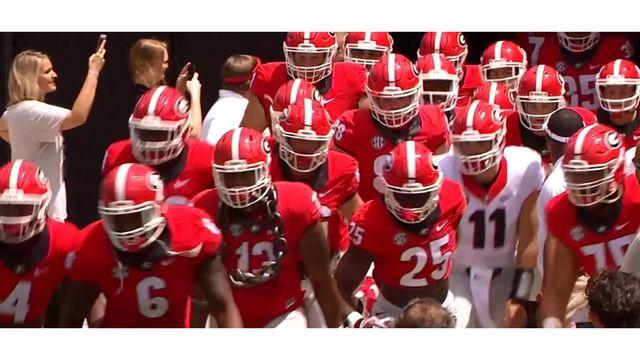 Georgia Bulldogs 2018 football schedule announced