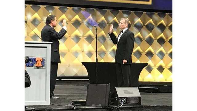 LaGrange Police Chief sworn in as new IACP President