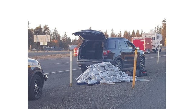 Oregon State police seize 200 pounds of marijuana from rental car