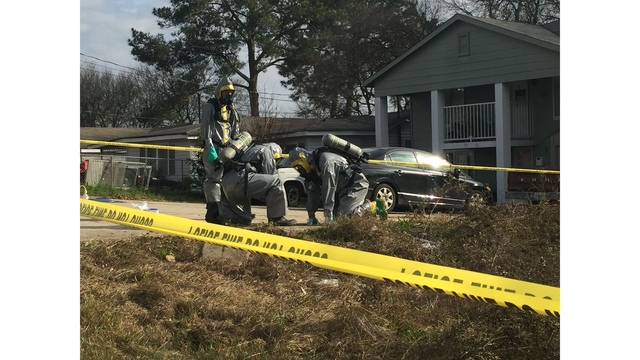 Meth lab investigation underway on 42nd Street