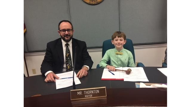LaGrange boy becomes Mayor of LaGrange for a day