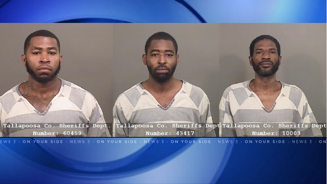 Traffic stop leads to drug bust in Alexander City; 3 arrested