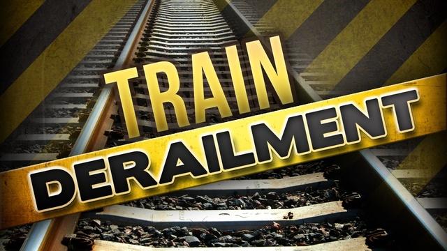 Train derailment in Alabama sends worker to hospital