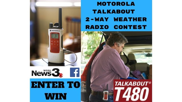 Motorola Talkabout 2-Way Weather Radio Contest