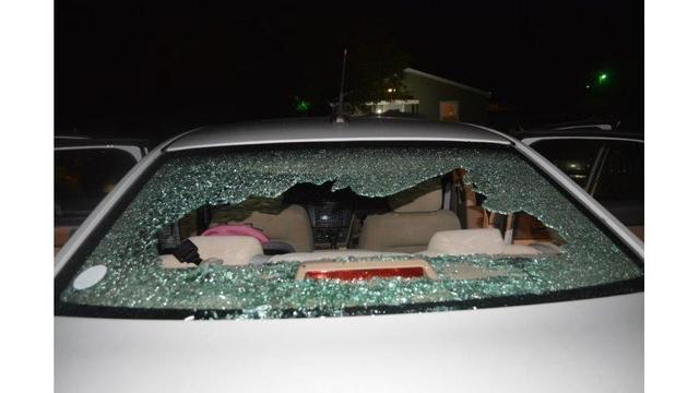 Man accused of shooting at ex-girlfriend inside car in Seneca