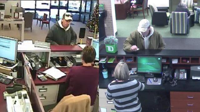 Help law enforcement find suspect in 2 Upstate bank robberies