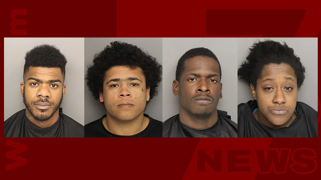 4 charged in connection with New Years Eve homicide in Greenville Co.