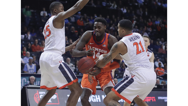 No. 1 Virginia, Clemson to clash in ACC semis