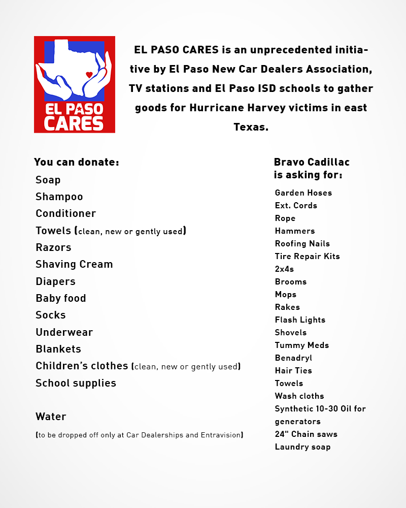 El Paso Cares Info