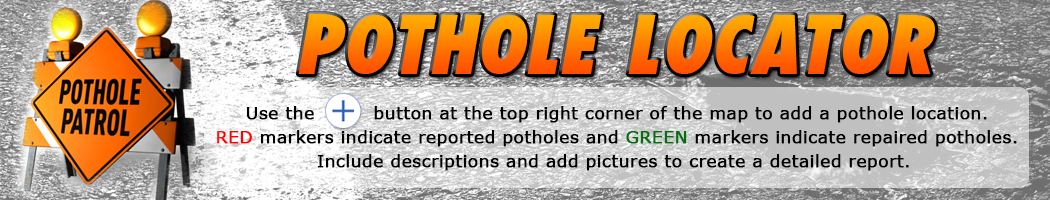 lubbock pothole locator