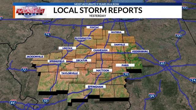 Severe Weather Center IllinoisHomepage WCIATV And WCIXTV - Us severe weather alert and tornado warning map