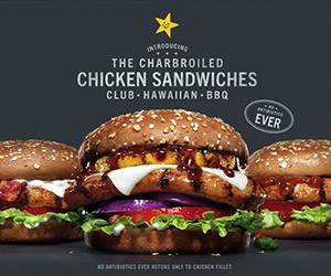Carl's Jr Charbroiled Hawaiian Chicken Sandwich