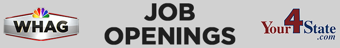 Current Job Openings with WHAG and Your 4 State dot com