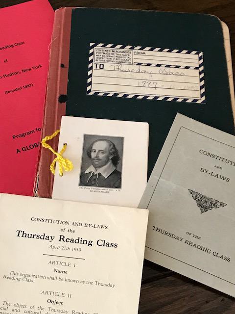 Thursday Morning Reading Class Exhibit at Nyack Library