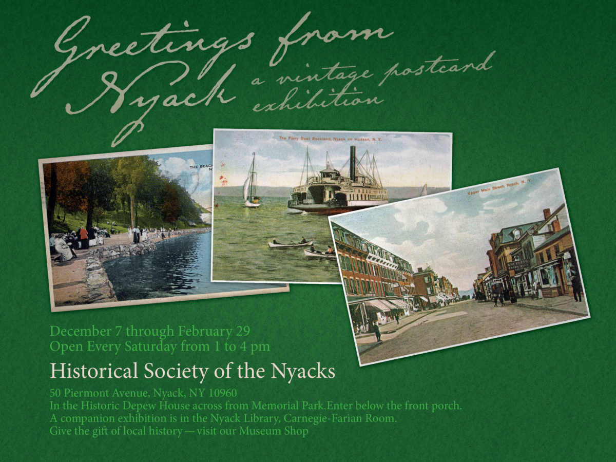 Greetings From Nyack – extended!