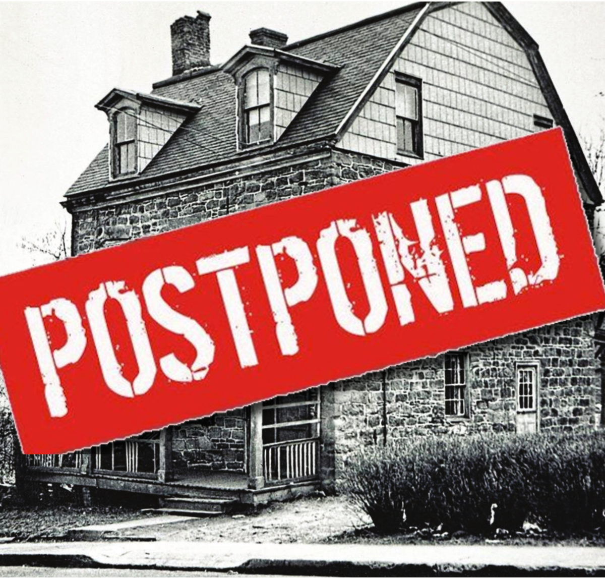 Armchair History Lectures Postponed