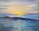 Painting--Oil-SeascapeNorthside Sunset