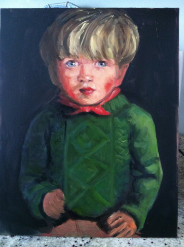 Painting--Oil-PortraitLittle Tommy