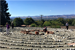 World Labyrinth Day: Wave