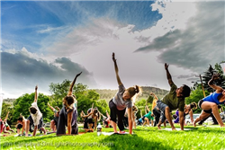 Yoga Rocks the Park - Bou