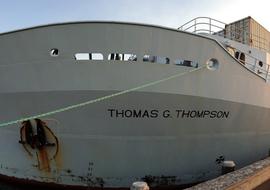 Axialseamountaboardshipinport