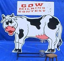 Ocean Tents Cow Milking Contest