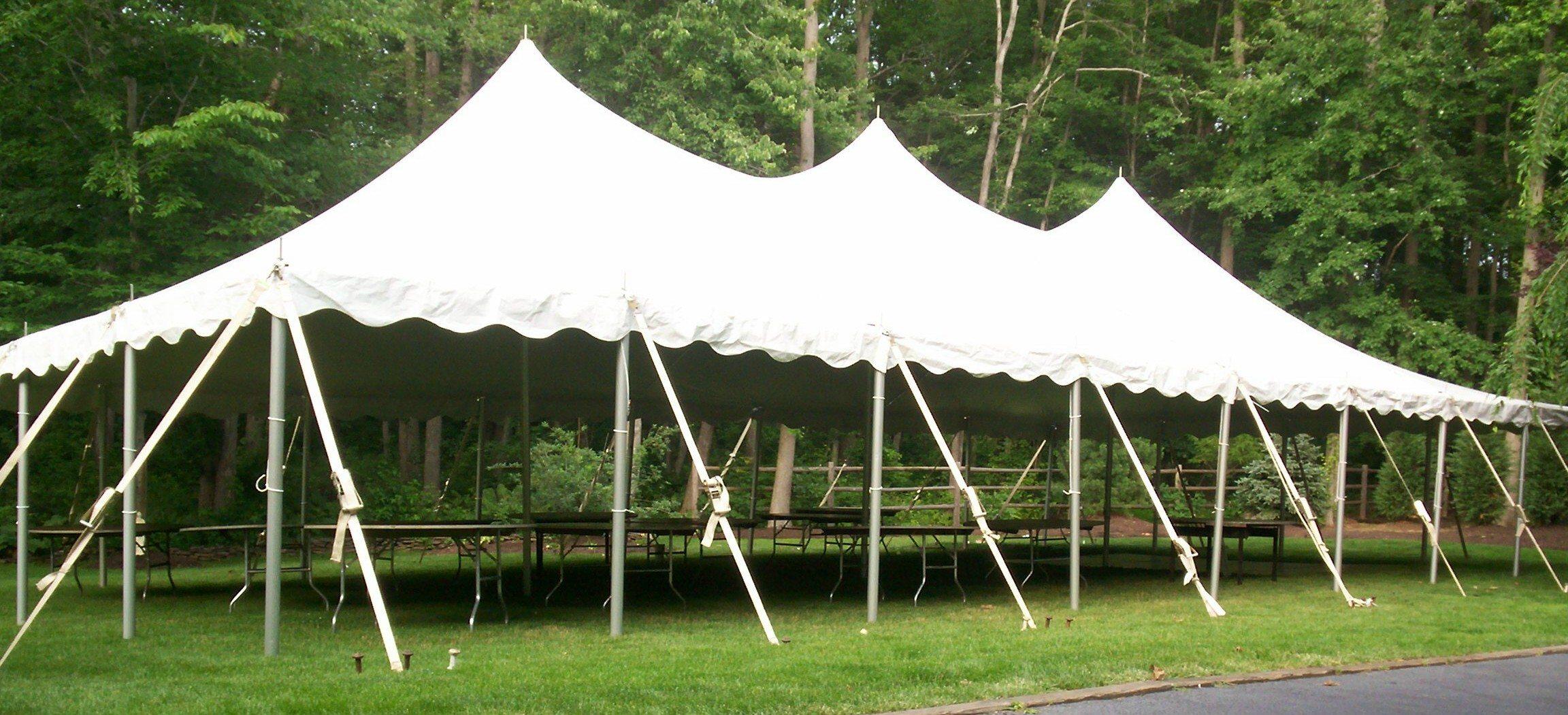 Category 30u0027 Wide Pole Tent. & Ocean Tents-30u0027 X 60u0027 1800 sq. ft.