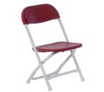 Children's Folding Red Chair