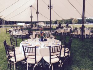 Sail Cloth Wedding Tents at Farm Weddings