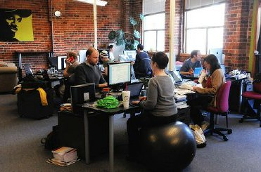 Coworking office space in Seattle