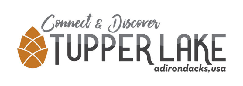 The Regional Office of Sustainable Tourism developed Tupper Lake's current logo and slogan.