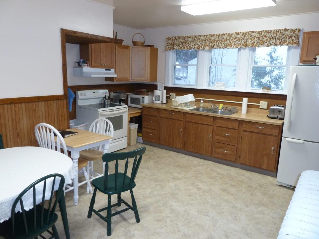 The Kitchen At Samaritan House Has New Cabinets, Stove, Flooring And  Lighting. (Enterprise Photo U2014 Peter Crowley)