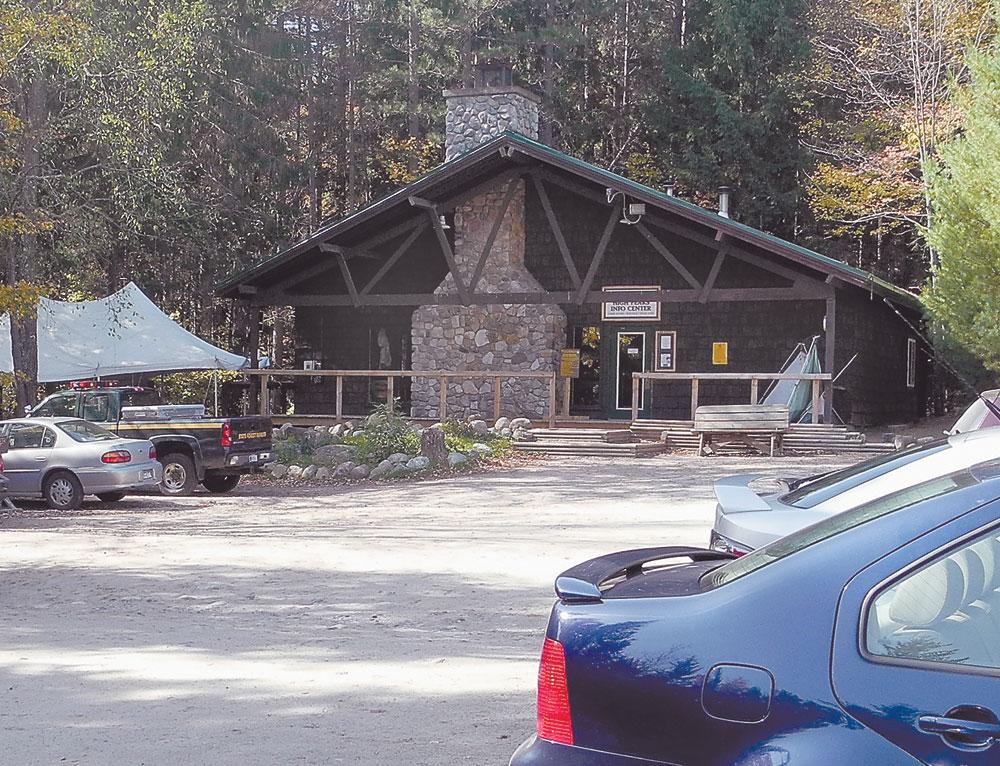 High Peaks Information Center (Enterprise photo — Chris Knight)