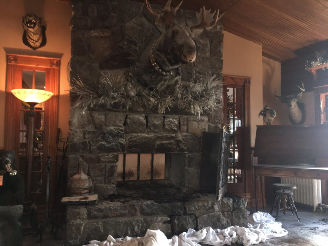 scare at mirror lake inn as chimney fire is contained news