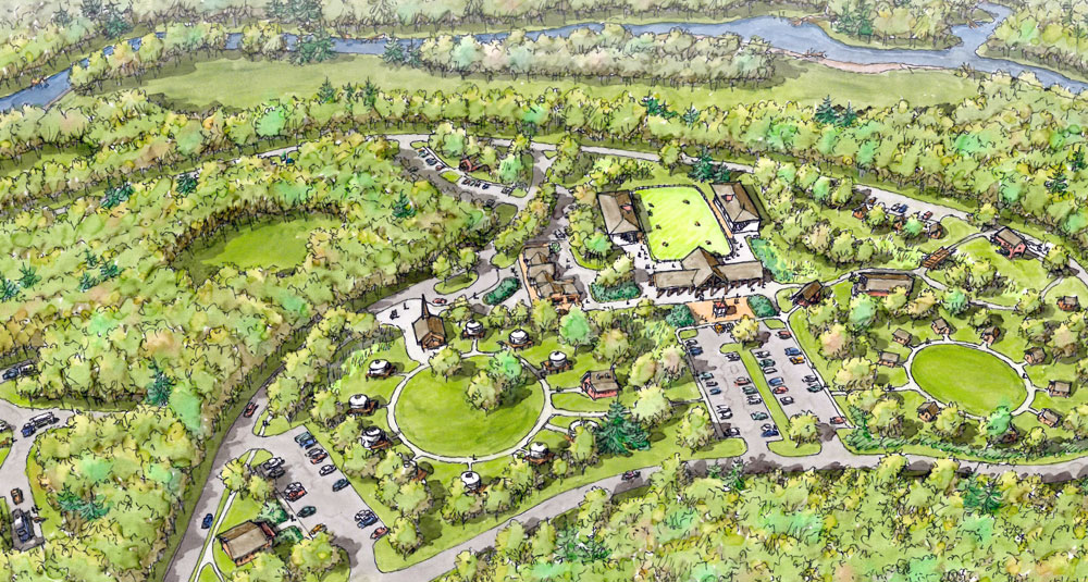 Master Plan Released For Adirondack Gateway At Former