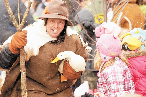 """The Winter Carnival Gala Parade is expected to be wilder than ever this year under the theme """"Adirondack Wildlife."""" (Enterprise photo — Lou Reuter)"""