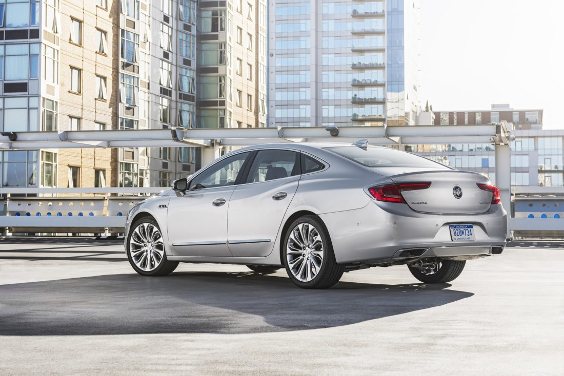 Buick LaCrosse: Object Detection System Messages