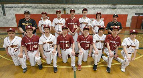 Saranac Lake baseball team (Enterprise photo — Lou Reuter)
